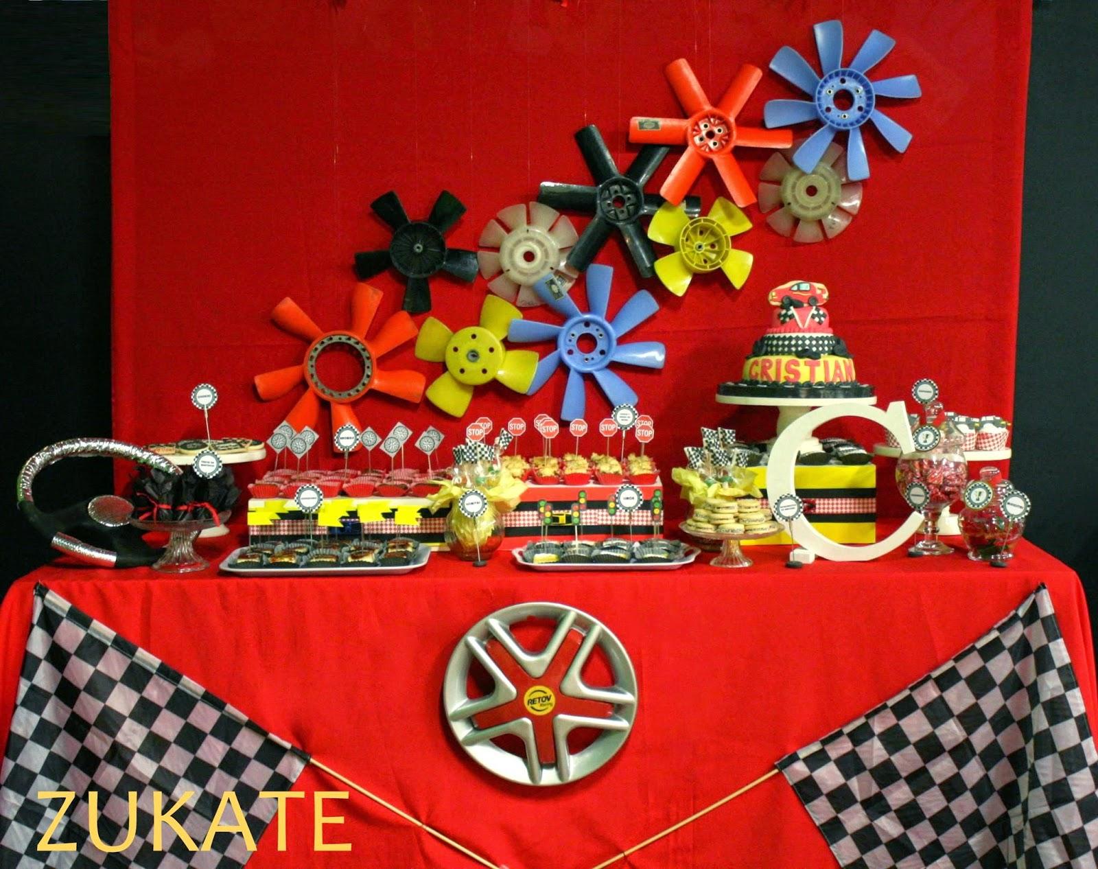 Fiesta De Autos Para Cristian Zukate