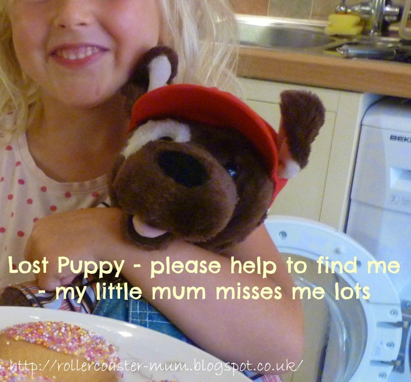 #lostteddy, Build a Bear Fudge Pup