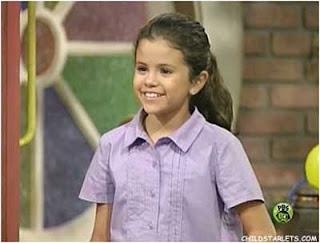 Selena Gómez de niña