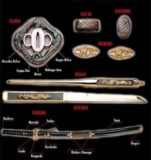 японский меч
