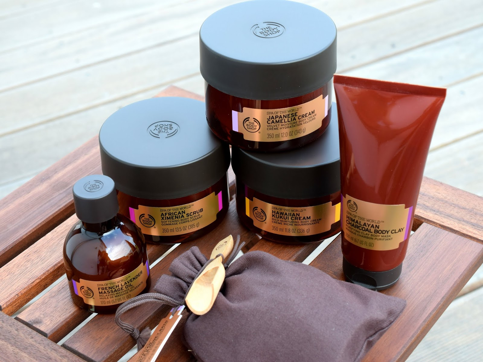 Neues von The Body Shop: Spa of the World + Gewinnspiel