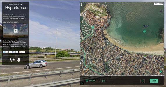 Crea recorridos animados con Street View