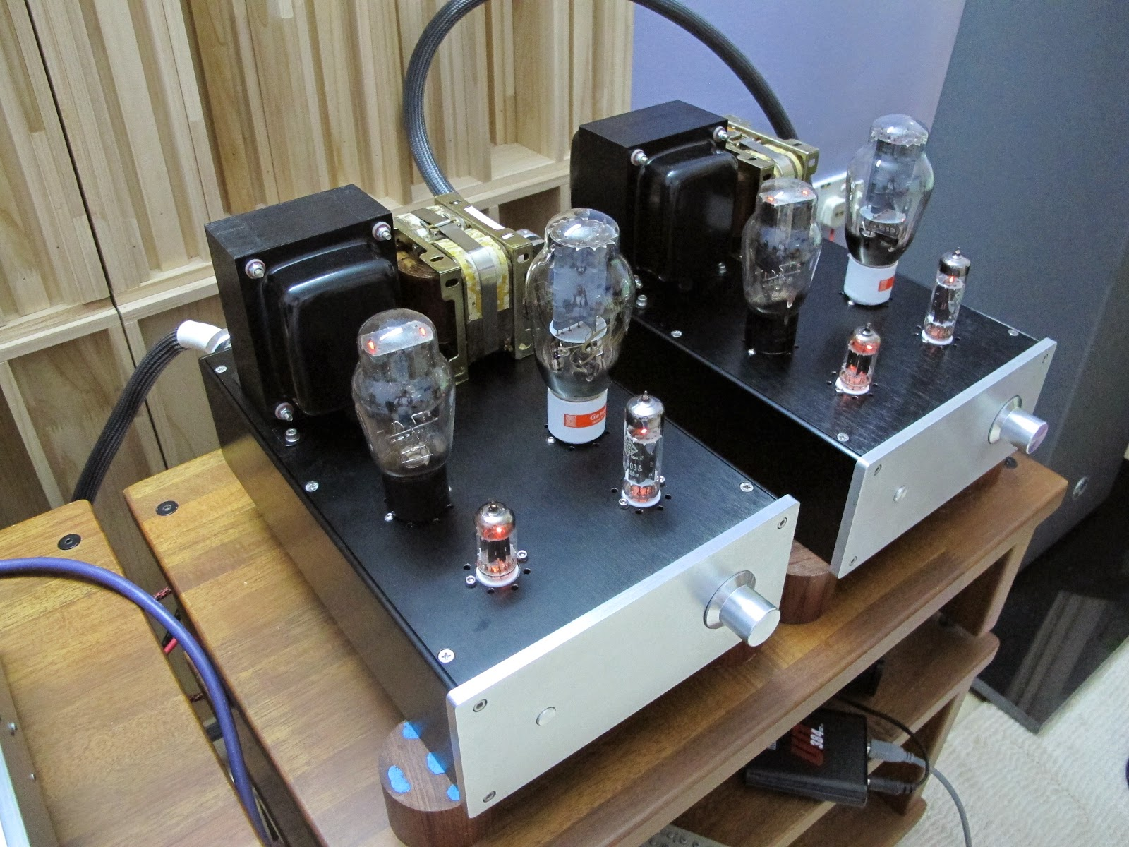 J U0026k Audio Design  300b Tube Amplifier