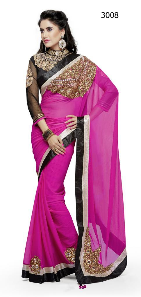 Letest Lengha type Saree-Online Shopping, Exclusive Designer Embroideries Resham Work Saree in Ahemdabad