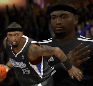 NBA 2K13 DeMarcus Cousins Cyber Face Patches