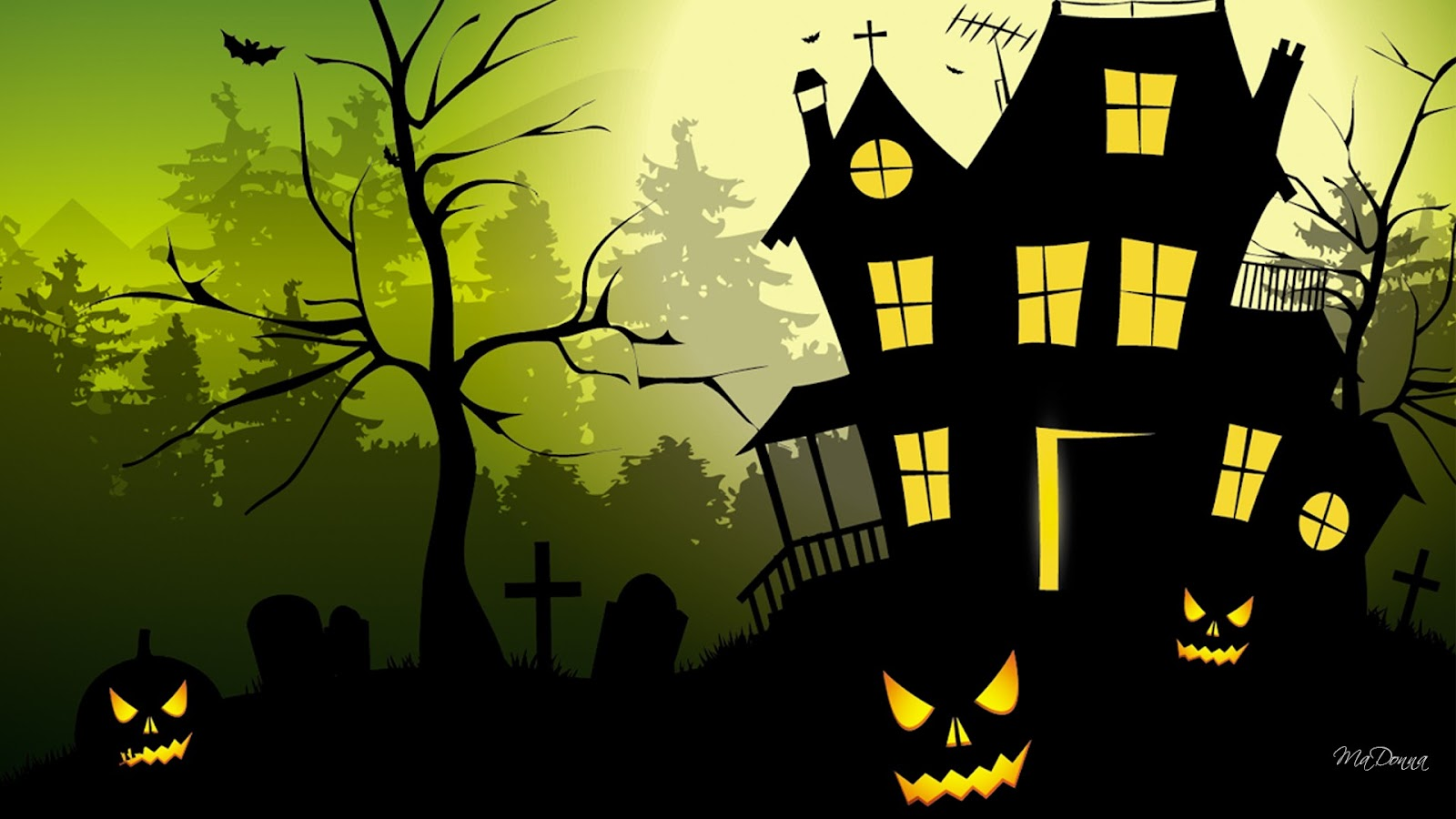 Awesome Galleries: Halloween Desktop Wallpaper (Page 6)