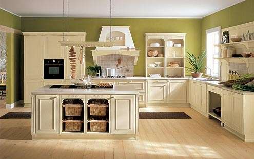 Ideas para pintar las paredes de una cocina country for Ideas para disenar tu cocina