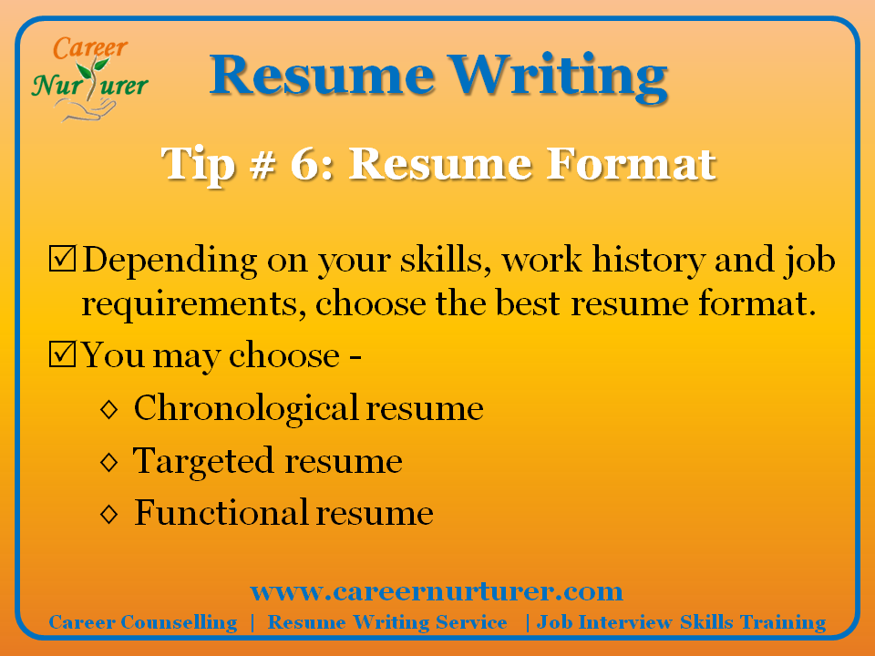 professional resume writing services - Professional Resume Writing Services