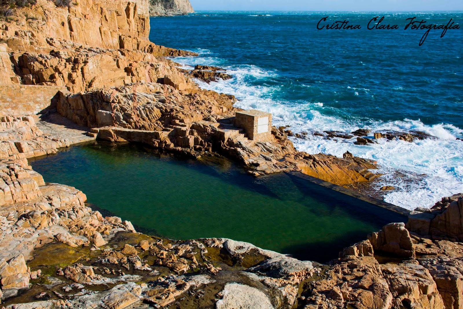 Cristina clara fotograf a el camino de ronda de for Piscina natural de puerto santiago