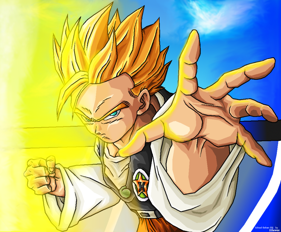 Dragon ball z wallpapers adult gohan super saiyan - Super sayen 10 ...
