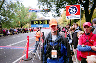 THOMAS Q KIMBALL WA8UNS Volunteering at the 2009 and 2010 ING NYC Marathon