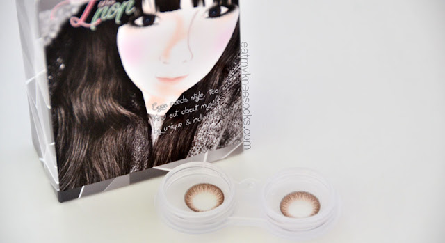 The Maxlook SCL 23 C-Brown circle lenses from Klenspop.