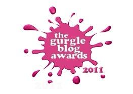 Gurgle Blog Awards winner