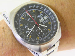 HEUER CHRONOGRAPH PATINE INDEX DIAL - AUTOMATIC