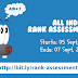 First JEE Rank Assessment Test 2014 Syllabus and Schedule blog image