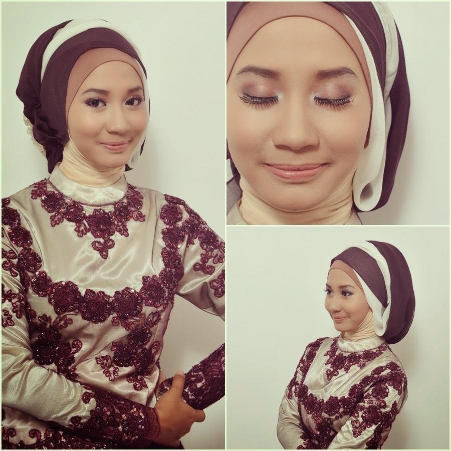 Tutorial Hijab Dua Warna Untuk Wisuda
