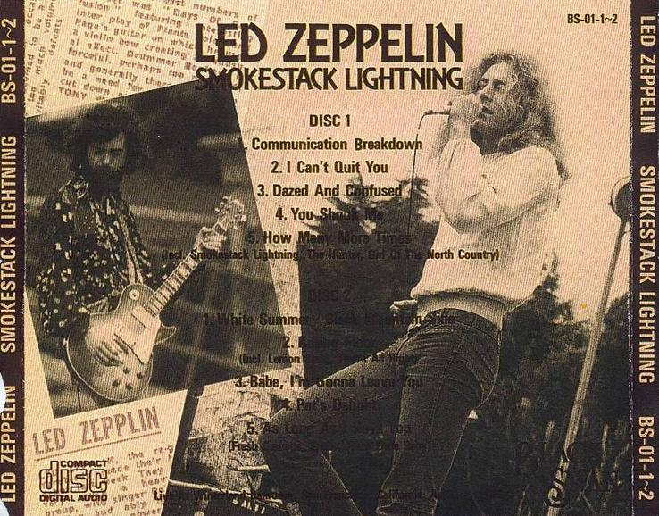 Zappadalata Led Zeppelin 1969 04 26 Winterland