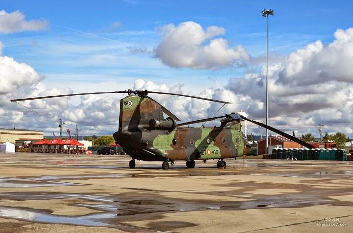 Helicoptero Chinook Ejercito de Tierra
