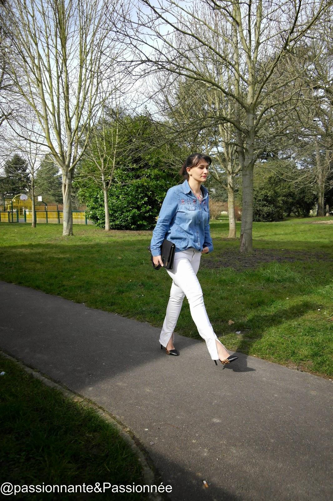 jeans sur jeans
