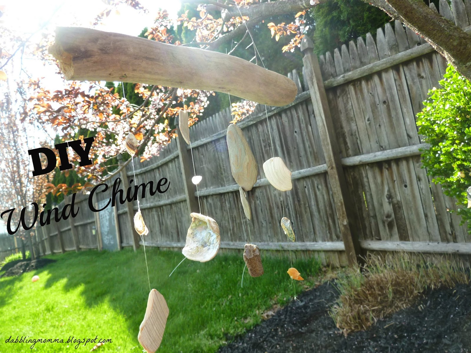 Boredom Busters for Kids - DIY Wind Chime
