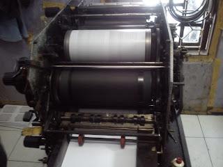 jual mesin cetak toko 820 kondisi jalan