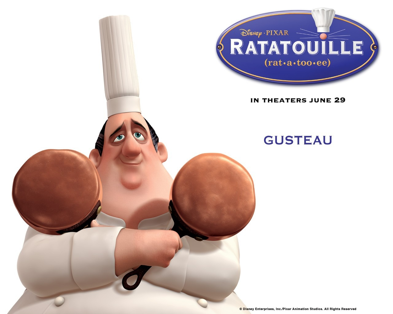 wallpapers ratatouille animated movie - photo #42