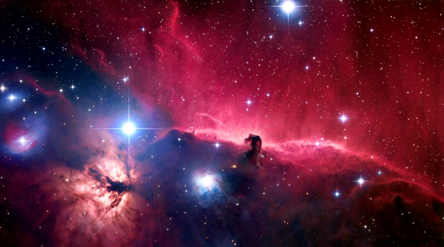 View Original Size Orion Nebula HD Desktop Wallpaper Dual Monitor Image Source From This