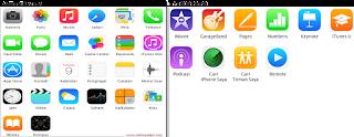Aplikasi bawaan dan gratis iphone 5c