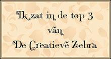 1e plaats bij De Creatieve Zebra