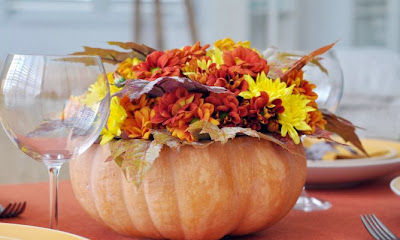 Centro floral Halloween