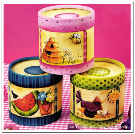 Manualidades para compartir mayo 2012 - Cajas de decoracion ...