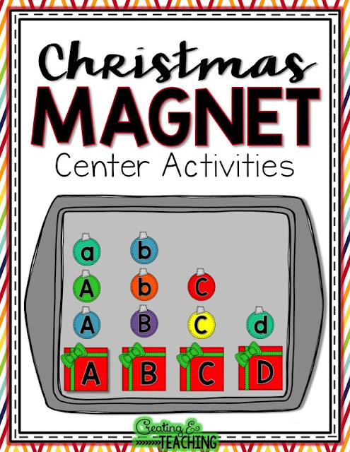 https://www.teacherspayteachers.com/Product/Christmas-Magnet-Center-Activities-2246443