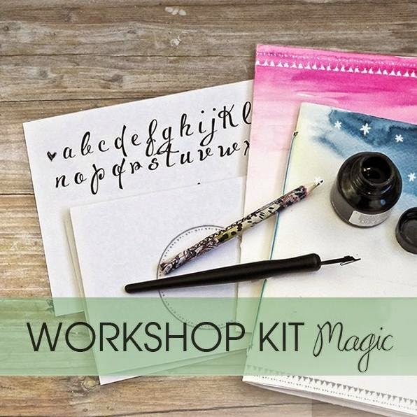 crealoo kit diy magic - lettering caligrafia para bodas