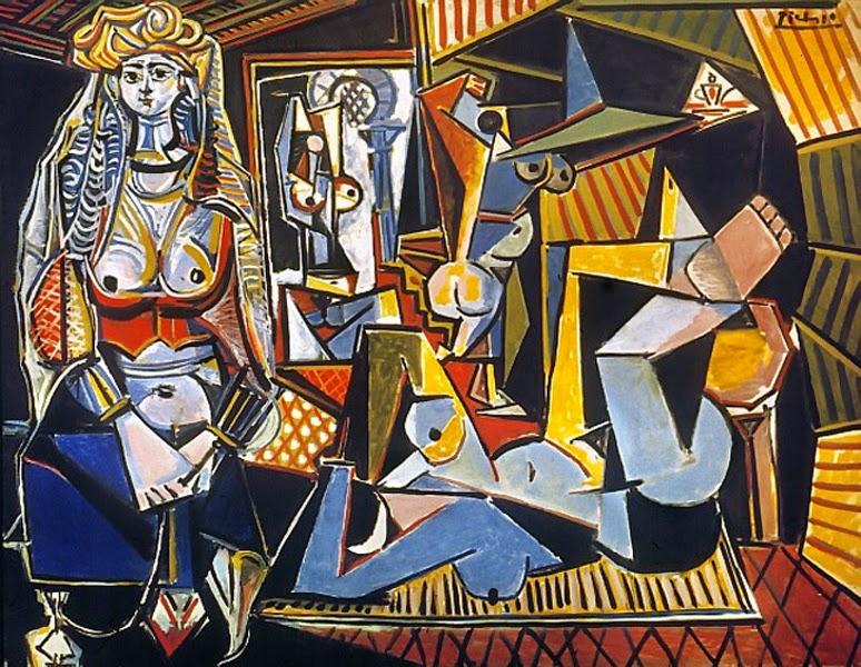 Пабло Пикассо Женщины из Алжира (версия).