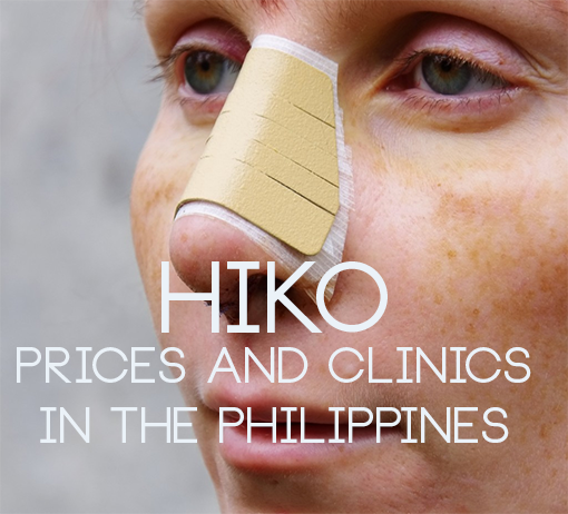 hiko nosejob philippines clinic and price