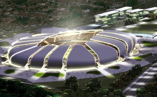 Arena das Dunas, em Natal