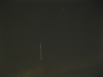international space station (ISS) over bowling green ohio