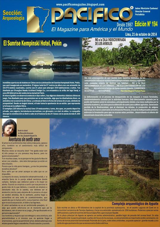 Revista Pacífico Nº 194 Arqueología