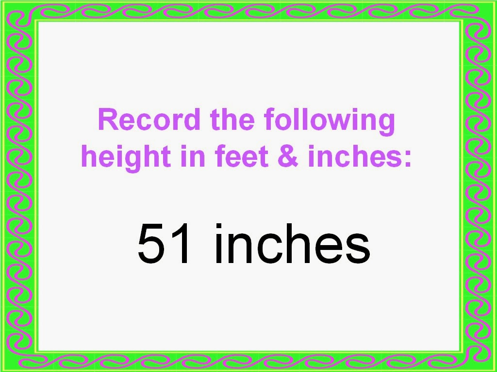 Student Survive 2 Thrive Convert Height To Feet And Inches Examples And Practice Easily convert inches to centimeters, with formula, conversion chart, auto conversion to common lengths, more. student survive 2 thrive blogger