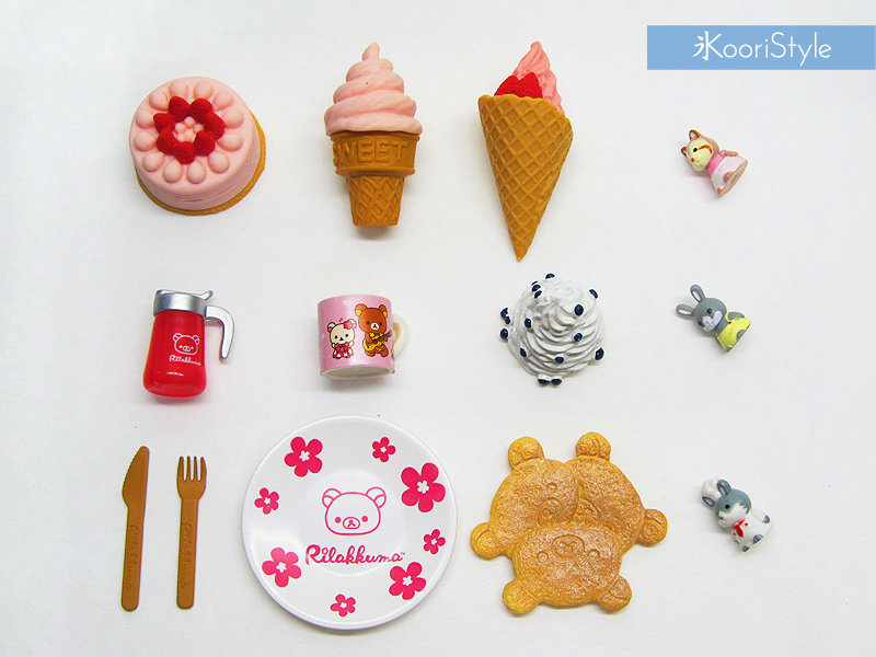 Koori KooriStyle Kawaii Cute Planner Stationery Goods Goodies Agenda Journal Doll Miniatures Miniature Rement Re-ment Rilakkuma Happy Snail Mail Swap PenPal Letter