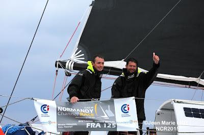 Nicolas Troussel et Felix Pruvot, vainqueurs de la Normandy Channel Race !