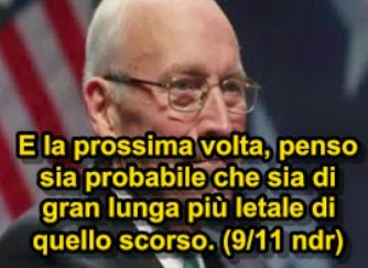 dick cheney attentato 11 settembre