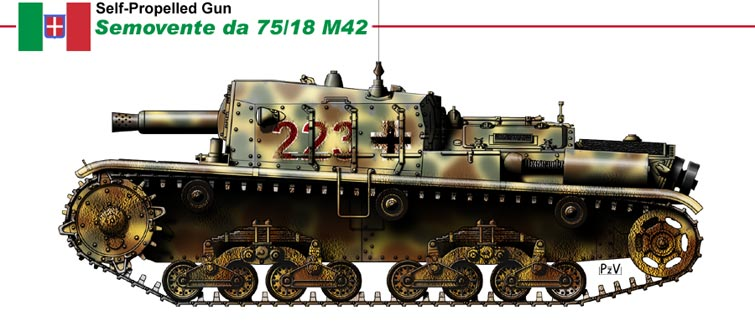 на шасси танка M14/41,