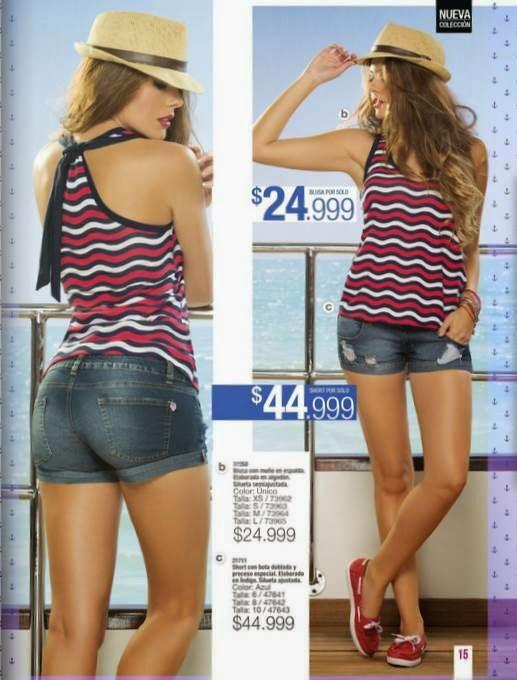 Outfit juvenil de verano 2015