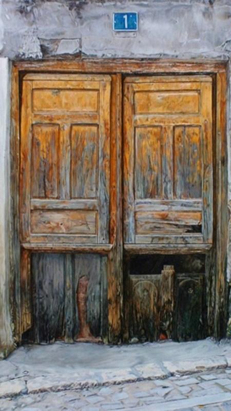 Pinturas cuadros lienzos el arte en pinturas de puertas - Pintura para puertas ...