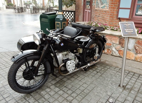 Inglourious Basterds 1939 BMW R71 motorcycle