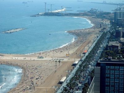 pantai barcelona