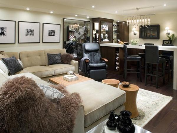 your basement into an living room home decor interior ideas