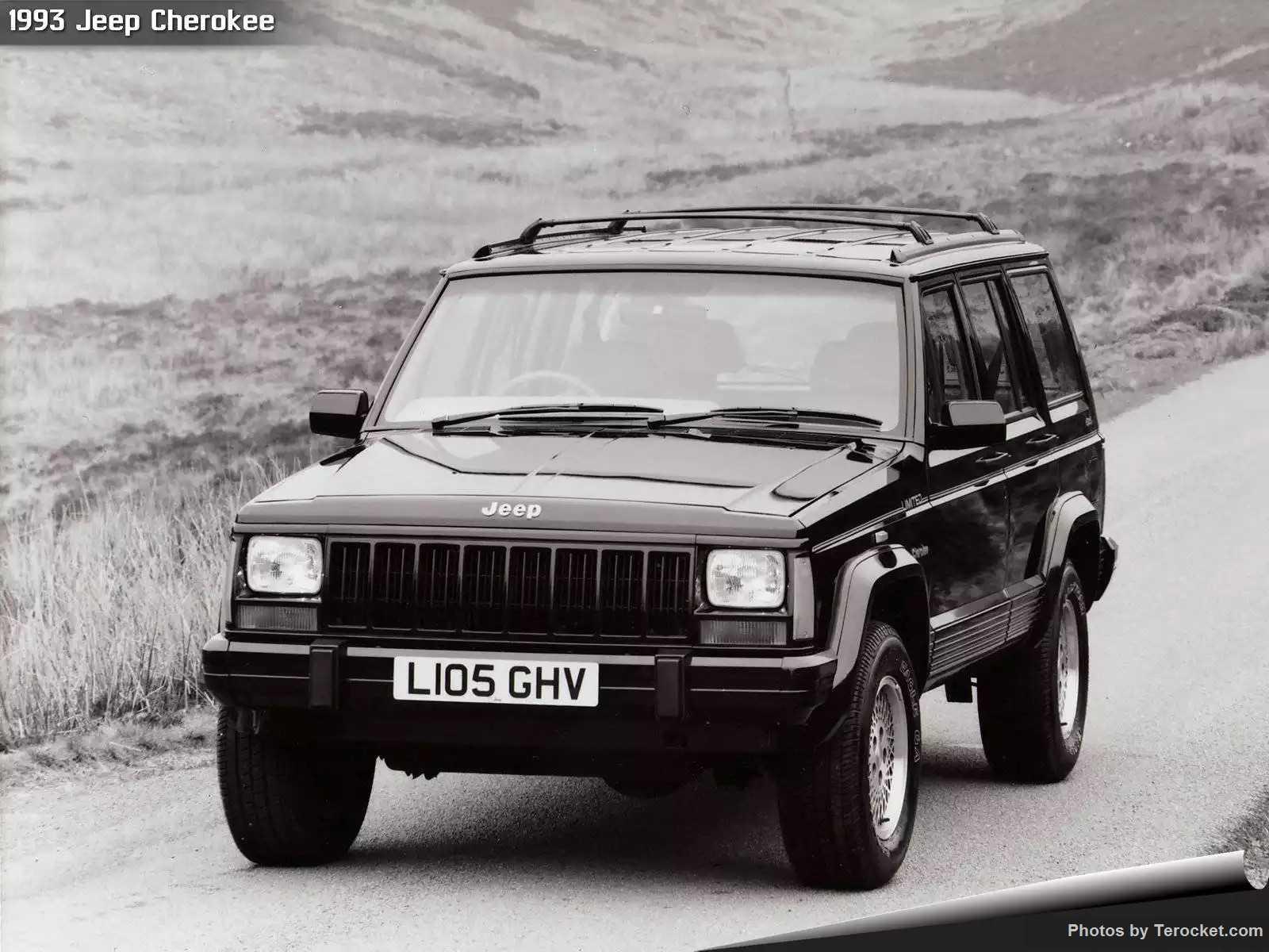 Hình ảnh xe ô tô Jeep Cherokee UK Version 1993 & nội ngoại thất