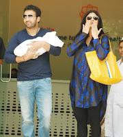 Shilpa takes Baby K home
